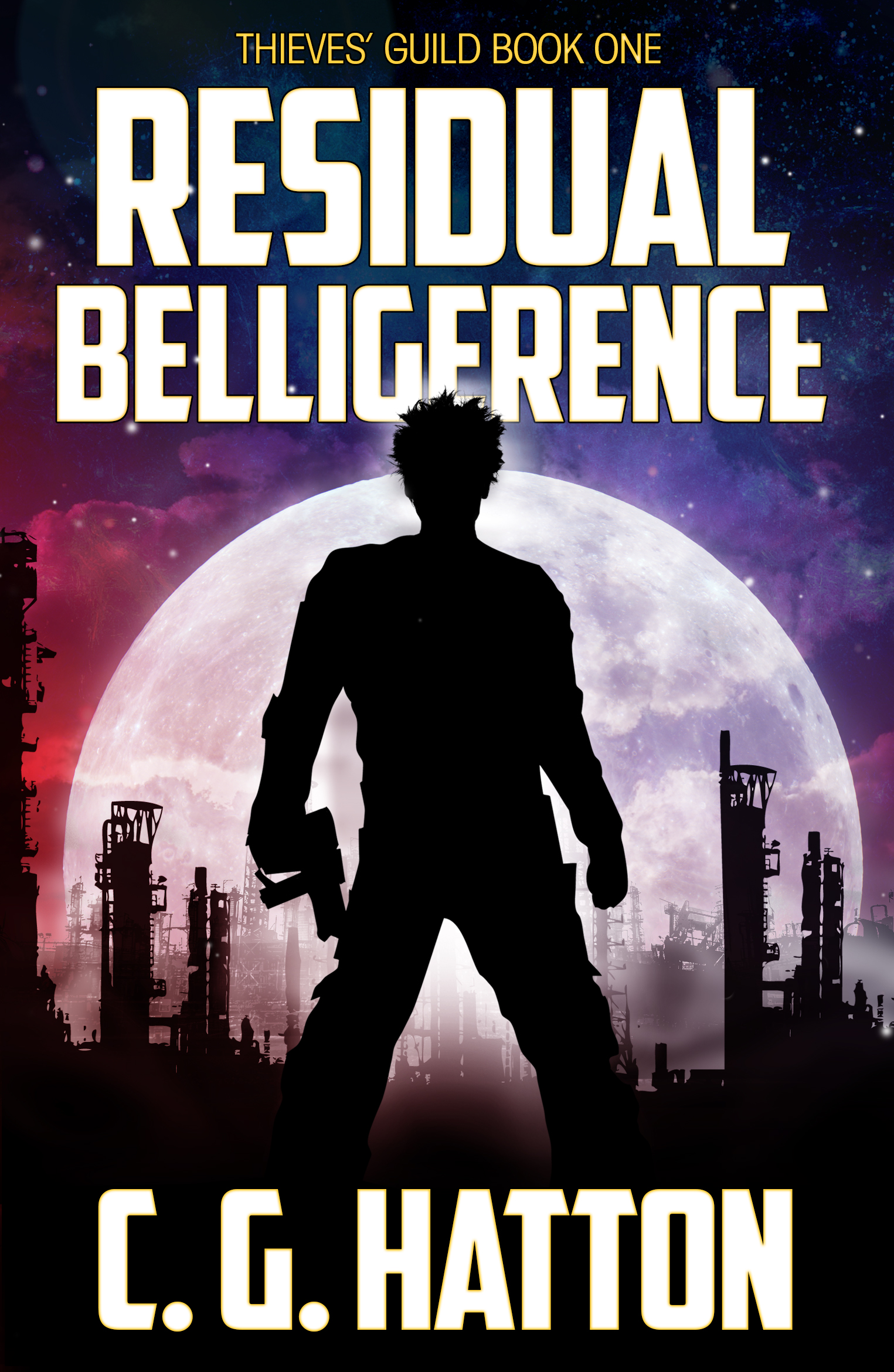 Residual Belligerence - fast-paced epic sci-fi adventure