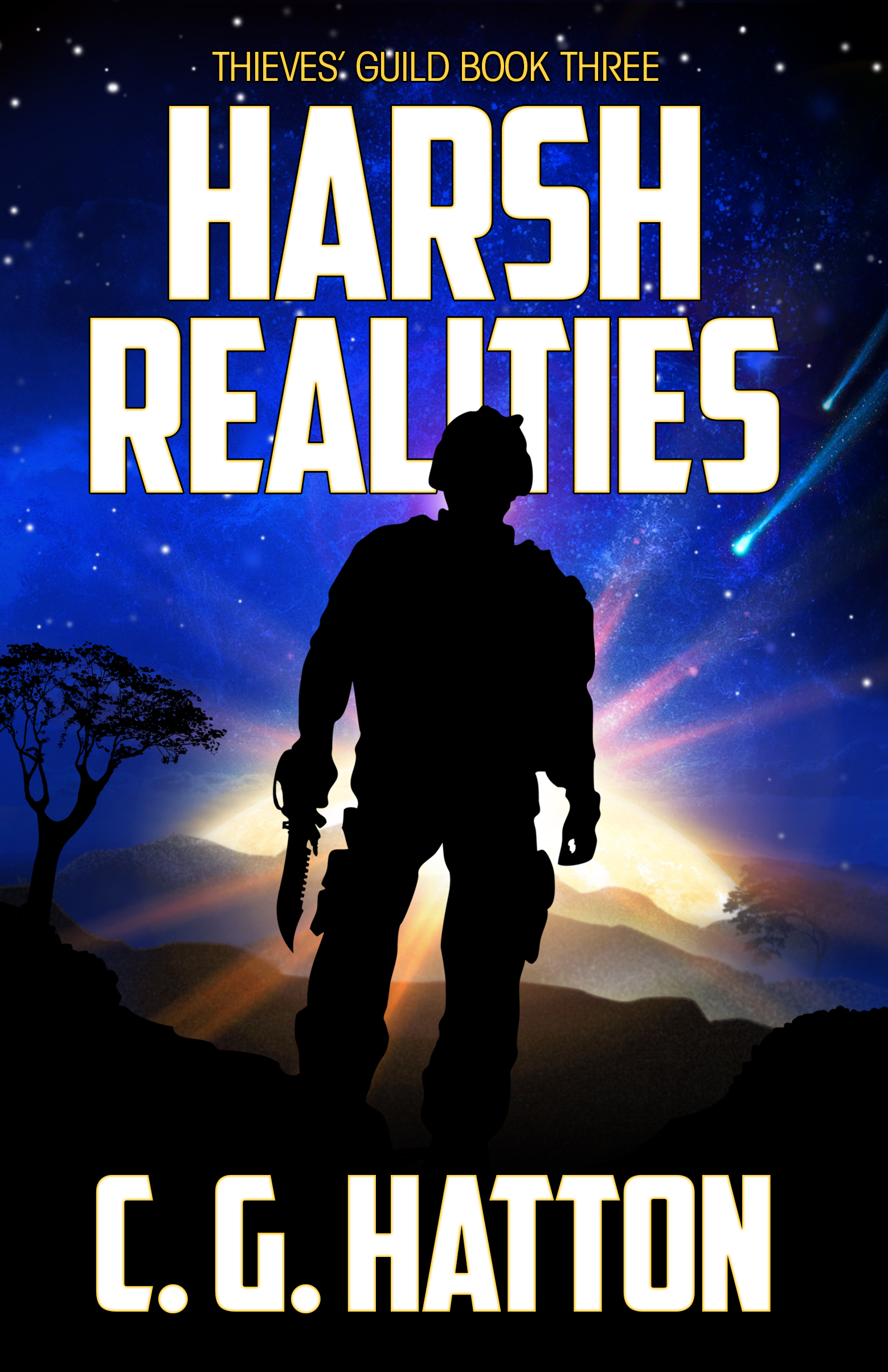 Harsh Realities - fast-paced epic sci-fi adventure