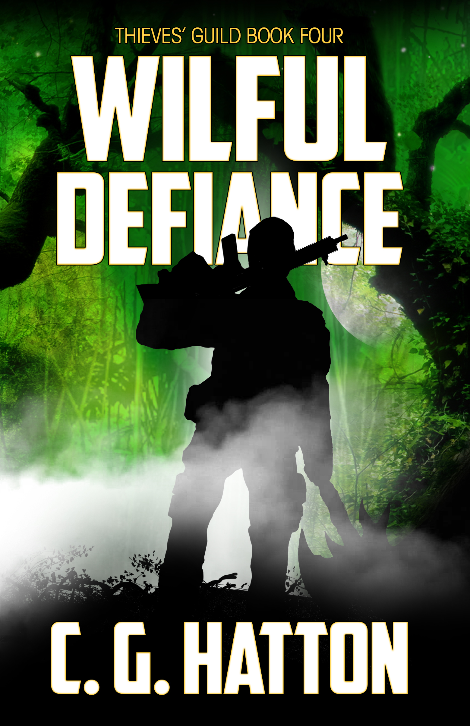 Wilful Defiance - fast-paced epic sci-fi adventure